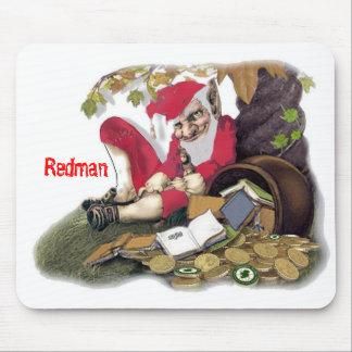 Redman, Irish Folklore Mouse Pad