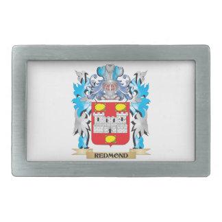 Redmond Coat of Arms - Family Crest Rectangular Belt Buckles