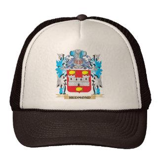 Redmond Coat of Arms - Family Crest Trucker Hats