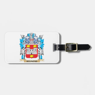 Redmond Coat of Arms - Family Crest Bag Tag