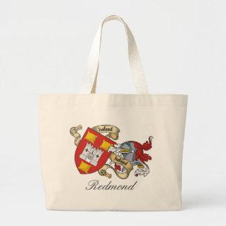 Redmond Family Crest Large Tote Bag