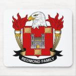 Redmond Family Crest Mouse Pad