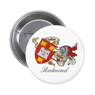 Redmond Family Crest Pinback Button