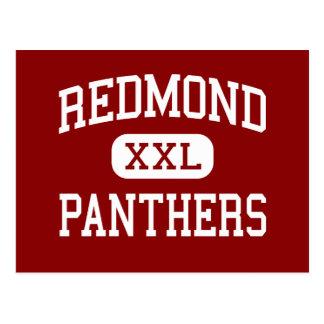 Redmond - Panthers - High School - Redmond Oregon Postcard