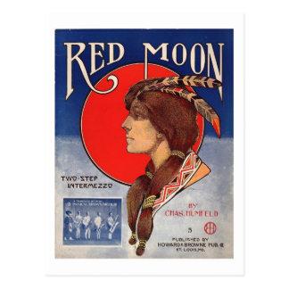 Redmoon Two Step Intermezzo 1908 Postcard