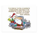 Rednceck Santa Claus Post Cards