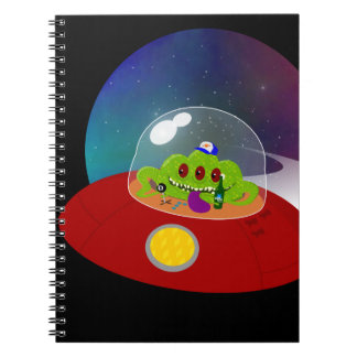 Redneck Alien from Outer Space Notebook