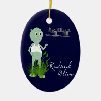 Redneck Aliens Ornament