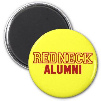 Redneck Alumni Design 2 Inch Round Magnet