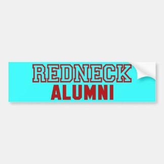 Redneck Alumni Design Bumper Sticker