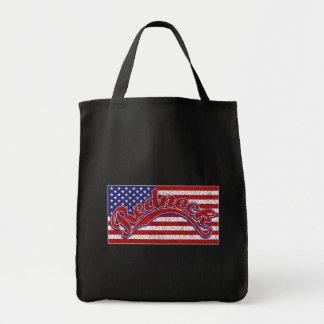 Redneck and Flag Tote Bag