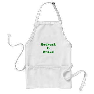 Redneck and Proud Adult Apron