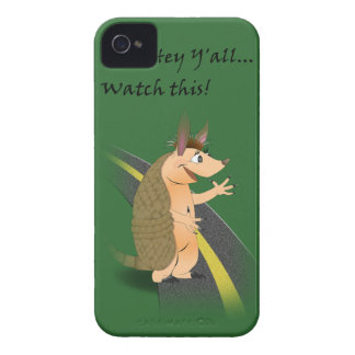 Redneck Armadillo iPhone 4/4S Barely There Case iPhone 4 Cover