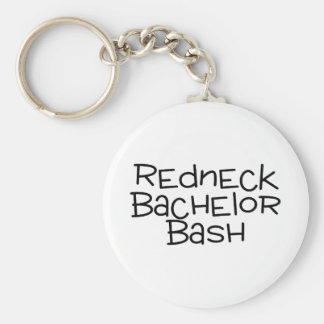 Redneck Bachelor Bash Keychain