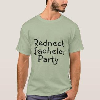 Redneck Bachelor Party Wedding T-Shirt