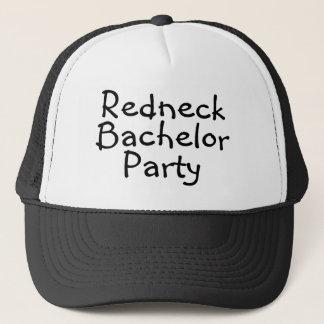 Redneck Bachelor Party Wedding Trucker Hat