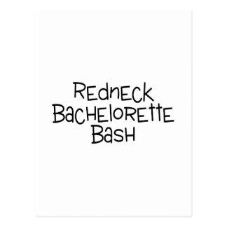 Redneck Bachelorette Bash Postcard