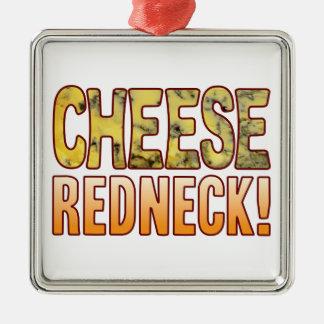 Redneck Blue Cheese Metal Ornament