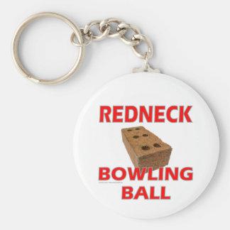 REDNECK BOWLING BALL KEY CHAINS