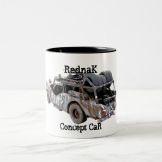 Redneck Car Two-Tone Coffee Mug