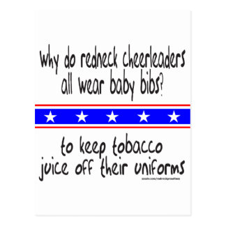 REDNECK CHEERLEADERS T-SHIRTS AND GIFTS POSTCARD