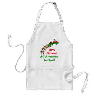 Redneck Christmas Adult Apron