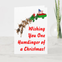 Redneck Christmas Holiday Card
