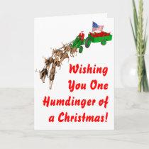 Redneck Christmas Holiday Card