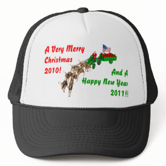 Redneck Christmas Trucker Hat