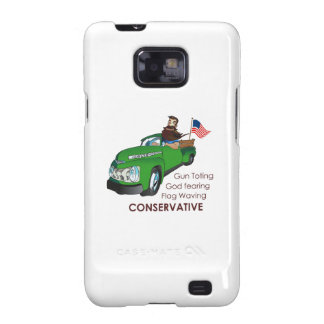 REDNECK CONSERVATIVE GALAXY S2 COVERS