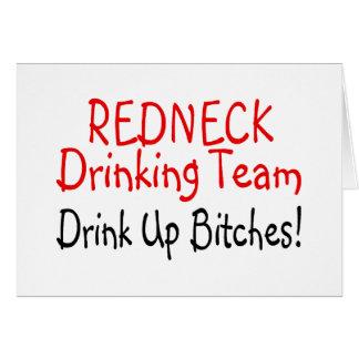 Redneck Drinking Team (Red Black) Cards