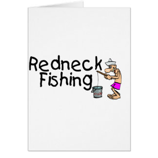 Redneck Fishing Greeting Card
