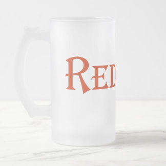 Redneck Frosted Glass Beer Mug