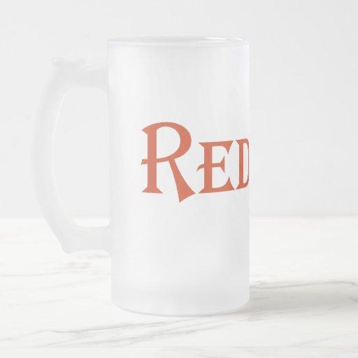 Redneck Frosted Glass Beer Mug