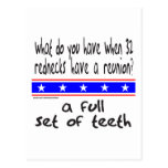 REDNECK FULL SET OF TEETH T-SHIRTS AND GIFTS POSTCARD