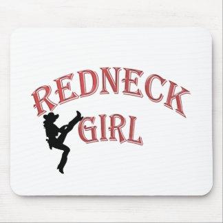 Redneck Girl Mousepad
