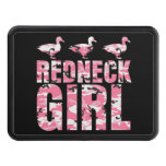 Redneck Girl Pink Camouflage 3 Ducks Hitch Cover Hitch Covers