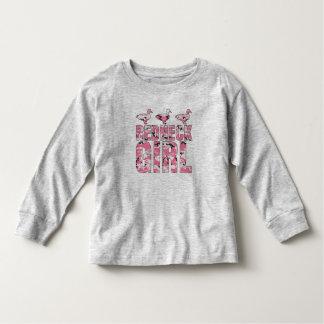 Redneck Girl Pink Camouflage Ducks Toddler Shirt