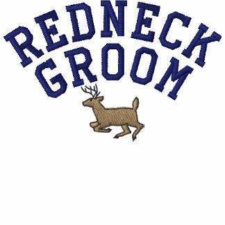 Redneck Groom Embroidered Shirt