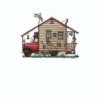 Redneck Hillbilly Camper Apparel shirt