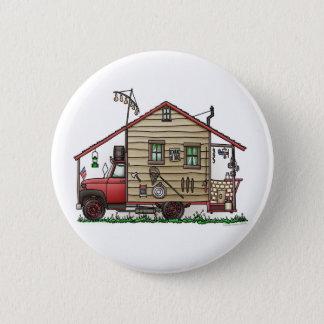 Redneck Hillbilly Camper Buttons