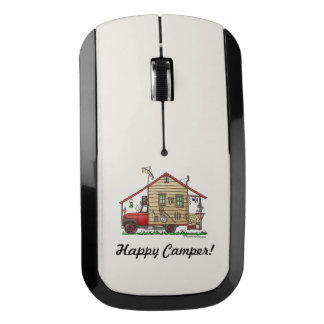 Redneck Hillbilly Camper Keychains Wireless Mouse