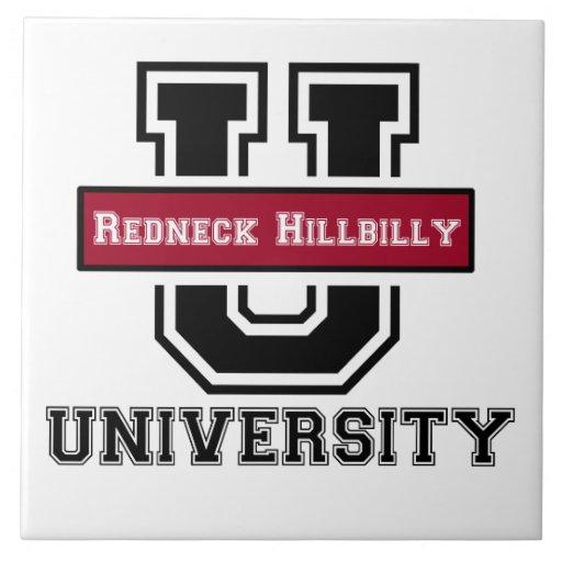 Redneck Hillbilly - Southern Humor Tile