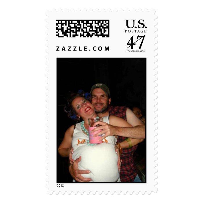 Redneck Holiday Stamp