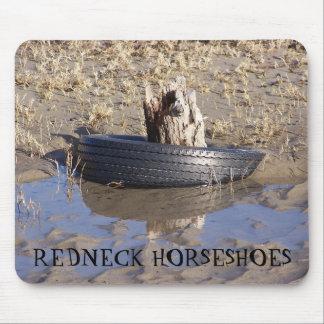 REDNECK HORSESHOES MOUSEPAD