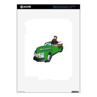 REDNECK IN A PICKUP DECAL FOR iPad 3