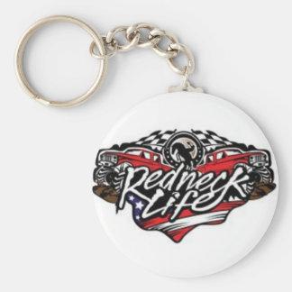 Redneck Life Keychain