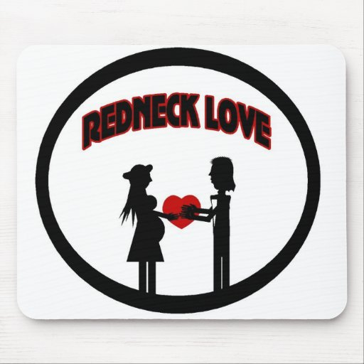 Redneck Love Mouse Pad