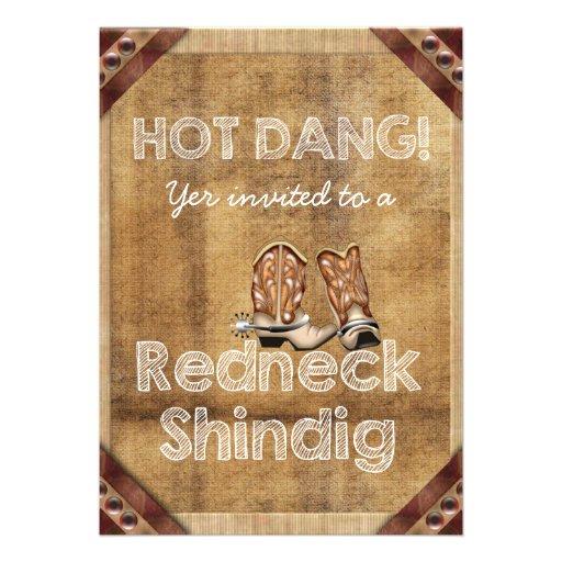 redneck wedding invitation templates apps directories - Redneck Wedding Invitations
