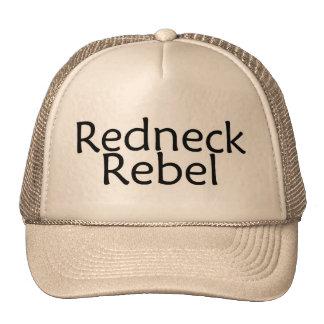 Redneck Rebel Trucker Hat